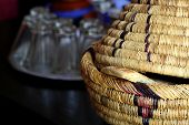 Wicker Ware And Other Dishes