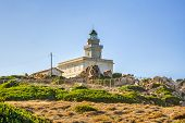 Lighthouse At Capo Testa, Sardinia