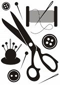 Sewing Tools Icons