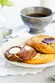 Soft Cookies Wth Chocolate And White Chocolate