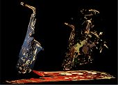 Surreal Saxophones