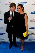 NEW YORK-MAY 29: Singer Rob Thomas and wife Marisol attend the Samsung Hope for Children gala at Cipriani Wall Street on June 11, 2013 in New York City.