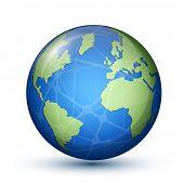 stock photo of earth structure  - Globe - JPG