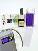 Água alcalina Ionizer teste Ph reagente