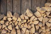 Brennholz.