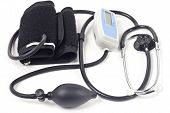 Stethoscope & Blood-pressure Device