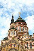 Annunciation Cathedral in Kharkiv, Ukraine