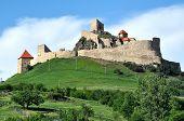 The fortress of Rupea, Transylvania, Romania