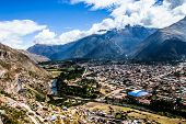 Urubamba City In Peru,South America