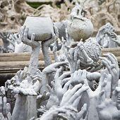 Wat Rong Khun In Chiang Rai; Thailand