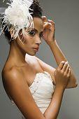 Noiva afro-americana