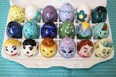 Ceramic Easter Eggs