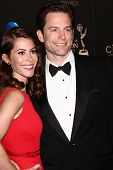 LOS ANGELES - JUN 16:  Michael Muhney arrives at the 40th Daytime Emmy Awards at the Skirball Cultur