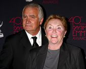 LOS ANGELES - JUN 14:  Susan Flannery, John McCook attends the 2013 Daytime Creative Emmys  at the B