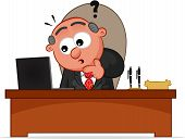 image of patron  - Business man cartoon - JPG