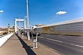 Ponte de corda na Hungria