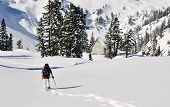 Raquetas de nieve chica en Mt Baker - Snoqualmie National Forest