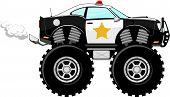 police car 4X4