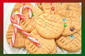 Christmas Border-Cookies with Candy