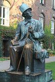 Statue of H. Ch. Andersen in Copenhagen