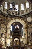Interior Of Saint - Augustin Church. Paris, France.