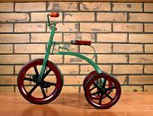 pic of tricycle  - vintage child - JPG