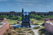 Cannon In Fort Jefferson, Florida