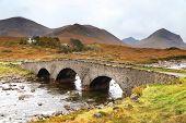 Bridge at Sligachan, Isle of Skye , Scotland