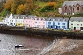 Portree on Isle of Skye, Scotland, United Kingdom