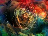 stock photo of metaphysics  - Geometry of the Soul series two - JPG