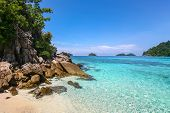 Beautiful Sea At Tropical Island, Koh Lipe