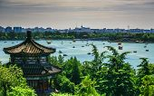 Aerial View Of Beautiful Summer Palace