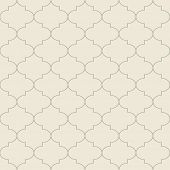 Retro seamless tile. Vector.