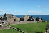 Dunnottar Castle In Aberdeen, Scotland.