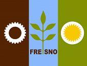Fresno City Flag