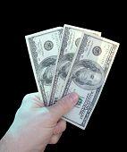 3 100 Bills