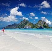 Tropical beach, El-Nido, Philippines