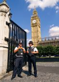 TWO POLICEMEN LONDON