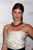 LOS ANGELES - JAN 11:  Sarah Lancaster at the Hallmark Winter TCA Party at The Huntington Library on