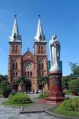 Notre-dame Saigon Basilica. Ho Chi Minh City, Vietnam