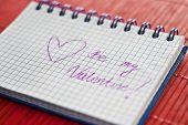 valentines notepad