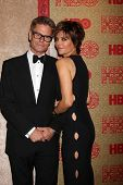 vLOS ANGELES - JAN 12:  Harry Hamlin, Lisa Rinna at the HBO 2014 Golden Globe Party  at Beverly Hilt