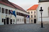 Banski dvori or Governor's Palace in Zagreb is the seat of the Croatian Government and also houses t