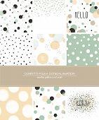 pic of dots  - A set of 9 Confetti - JPG