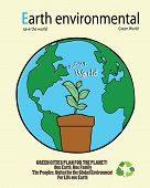 ave the world- sustainable development concept