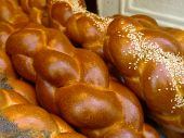 Fresh bread In Paris From A Jewish Bakery