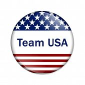 Team Usa Button