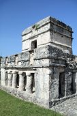 Ancient Mayan ruins at Tulum, Yucatan, Mexico