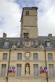 City Hall in the Palace of Dukes and Estates of Burgundy. Dijon, France