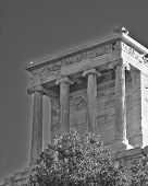 Athena Niki  temple Athens Greece